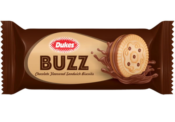 Dukes chocolate Buzz Cream Biscuit
