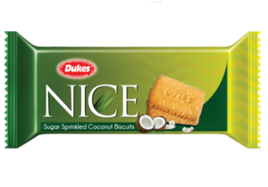 Dukes Nice Sugar Coconut Biscuits